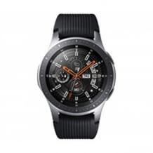 Die Smartwatch von Samsung: zeitlos elegant, mit rundem Zifferblatt und einem Gehäuse aus robustem Edelstahl