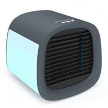 Tragbarer, leister Luftkühler mit Luftbefeuchtungsfunktion, LED Nachtlichtmodus und USB-Anschluss