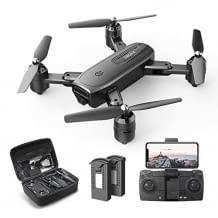 Kinder-Drohne mit hochauflösender Kamera, Flugbahn- und Gestensteuerung, sowie Live-Übertragung. Bis zu 34 Minuten Flugzeit.