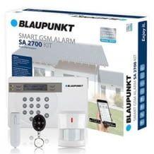 Sicherheitssystem mit Bewegungsmelder, Tür-/Fenstersensor, Fernbedienung und App