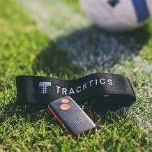 GPS Fußball-Tracker inkl. Gürtel Gr. M, misst u.a. Anzahl Sprints, Geschwindigkeit, Heatmap (Aufenthalt auf dem Spielfeld)