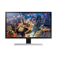 28 Zoll großer UHD Monitor mit 1ms Reaktionszeit, Game Mode und Eco Saving.