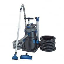 Leistungsstarker Teich- und Poolsauger mit eingebauter Förder- und Entleerungspumpe. Für eine Saugleistung von bis zu 8000 Liter pro Stunde.