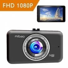 Mibao C200 Dashcam mit Full HD-Auflösung, 3 Zoll-Display und 170 Grad Weitwinkel-Sichtfeld