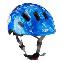 Kinder- und Jugendhelm aus stoßabsorbierendem EPS-Helmmaterial für erhöhten Rundumschutz. Mit feinjustierbarem Verstellsystem.