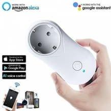 Günstige Einsteigersteckdose aus China. Kompatibel mit Amazon Alexa und Google Assistant.