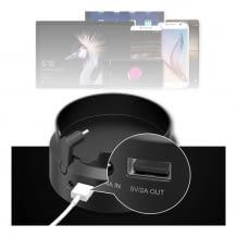 Portable Batteriebasis für Amazon Echo 2  und Echo Plus 1 Lautsprecher mit 10.200mAh