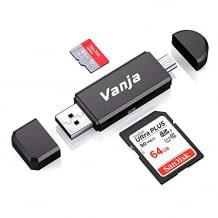 Android-Smartphones und -Tablets mit Micro-USB-Ladeanschluss. Für dieses Produkt wird keine zusätzliche Stromversorgung benötigt.