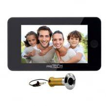Digitaler-Türspion mit 4,3 Zoll LCD Display für Türstärken von 38-110 mm