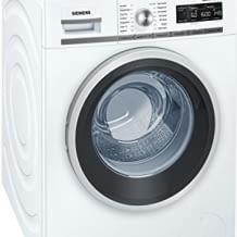 8 kg Waschmaschine mit A+++ Energieeffizienz, 1.600 U/min, Schnellwaschprogramm, Nachlegefunktion und Aqua stop