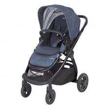 Einhändig faltbarer, luxuriöser 3 in 1 Kinderwagen für Eltern mit urbanem Lebensstil