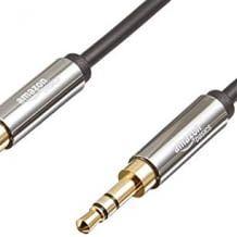 Stereo-Audiokabel mit 3.5mm Klinkenstecker mit breiter Kompatibilität.