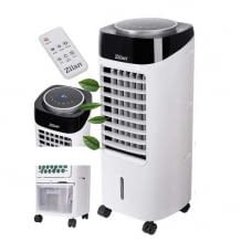 3 in 1 Air Cooler zur Luftkühlung, Luftreinigung und Luftbefeuchtung. Mit 3 Geschwindigkeits-Stufen und 7 Liter Wassertank.
