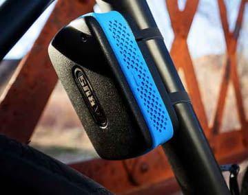 Mit der ABUS Alarmbox lassen sich Fahrräder und andere bewegliche Geräte und Gegenstände gegen Diebstahl sichern