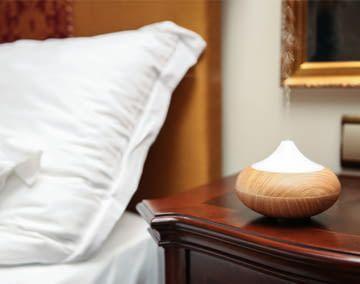 Aroma Diffuser können mit ätherischen Ölen für Aromatherapie verwendet werden
