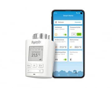 Das FRITZ!DECT 301-Thermostat lässt sich per App konfigurieren