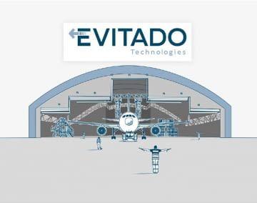 Das System von EVITADO funktioniert wie eine Flugzeugeinparkhilfe