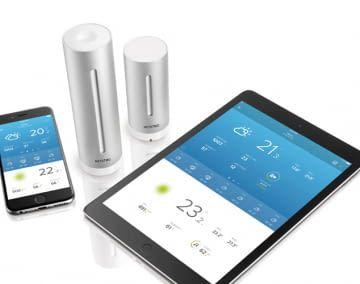 Das Luxus-Modell: Netatmo Wetterstation ist appgesteuert und kommt mit Alexa-Unterstützung
