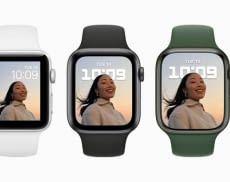 Im Vergleich zu Apple Watch Series 3 und Apple Watch Series 6 bietet Apple Watch Series 7 das größte Display