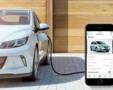 Über eine App könnenNutzer HERMINE mitteilen, wann der Akku des Elektroautos geladen sein soll