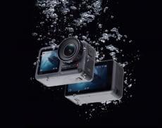 Auch ohne zusätzliches Schutzgehäuse ist die Actioncam bis 11 Meter wasserdicht