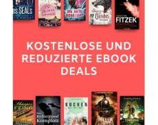 Mit Buchdeals lassen sich viele eBooks günstiger finden
