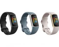 Fitbit Charge 5 wird es in drei modernen Farbvarianten geben