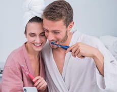 Mit der Playbrush Smart One Schallzahnbürsten kann Zähneputzen spielerisch aufgewertet werden