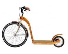 Jedes Wooden-Kickbike ist ein Unikat