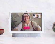 Google Nest Hub Max beherrscht dank integrierter Kamera die Gesichtserkennung