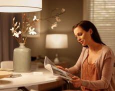 Mit dem Philips Hue Dimming Schalter können Nutzer Licht-Szenen einfach per Fernbedienung einstellen
