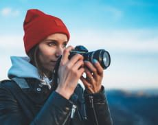 Digitalkameras halten schöne Momente für die Ewigkeit fest