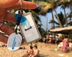 Schlüssel nie wieder stundenlang suchen mit dem musegear finder Bluetooth-Tracker