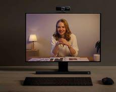 Eine Webcam wie Anker PowerConf 300 ermöglicht die professionelle Kommunikation vom Home-Office aus