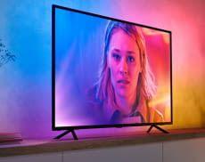 TV-Hintergrundbeleuchtung setzt ein ganz besonderes Highlight während dem Serien- und Filmabend