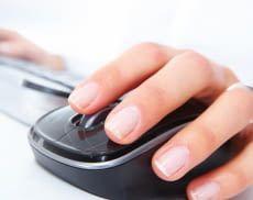 Computer Mäuse ermöglichen ein angenehmeres Arbeiten