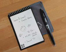 Das smarte Notizbook Rocketbook macht Notizblöcke aus Papier obsolet