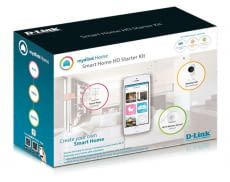 mydlink Home Smart Home System. Abbildung des mydlink Home Starter Kit