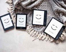 Wer einen tolino eBook-Reader sucht, hat die Wahl zwischen tolino page 2, tolino shine 3, tolino vision 5 und tolino epos 2 (v.l.n.r.)