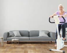 Ein Ergometer ermöglicht es auch in den eigenen vier Wänden sportlich aktiv zu werden
