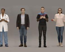 Die auf der CES 2020 vorgestellten künstlichen Menschen sehen sehr realistisch aus