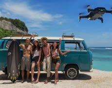 Die Drohne DJI Mavic Air eignet sich perfekt für Gruppen-Selfies