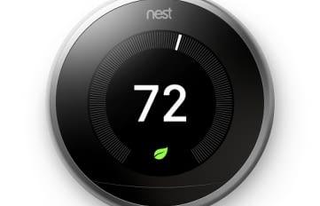 Nest Thermostat mit Energiesparmodus
