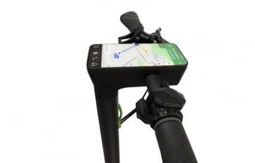 Citee Connect ist der erste E-Roller mit Android-Dashboard