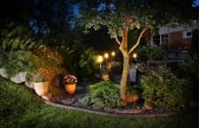 Mit der richtigen Beleuchtung ist der Garten (fast) rund um die Uhr nutzbar