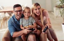 Spielekonsolen eignen sich für die ganze Familie