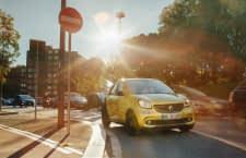 Der smart forfour EQ ist bestens für den urbanen Alltag gerüstet - in der Stadt CO2 frei.