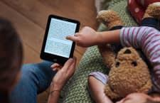 Vorlesen von Papier war gestern - mit Tolino Vision 4 HD passt die komplette Bibliothek in eine Hand