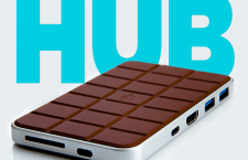 Chocolate Hub - QI Wireless Phone Charging