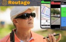 Dieses Navigationssystem ist auch für Blinde geeignet